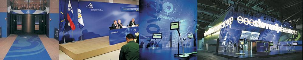Naročnik: Inkla plus d.o.o.: izdelava svetlobnih napisov in grafičnih elementov za Advansys, 2012 in